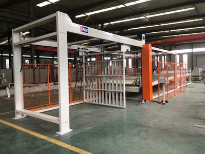 IPACK-US Up Staker For Corrugated Paperboard Production Line