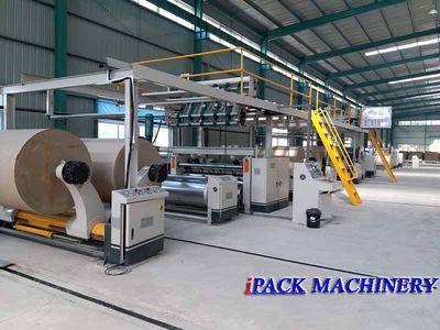 IPACK-3 Ply Corrugated Paperboard production line